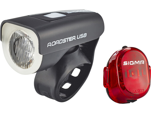 SIGMA SPORT Roadster Set de luces USB/Nugget II